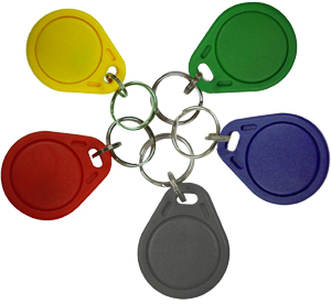 Colored Proximity Key Fobs
